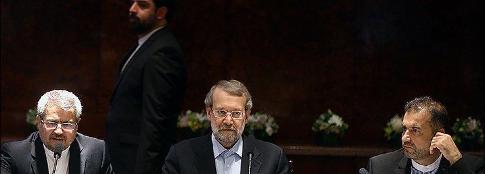 Speaker Expects Heated Majlis Debate on JCPOA