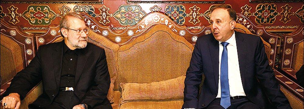 Speaker Holds High-Level Meetings in Syria