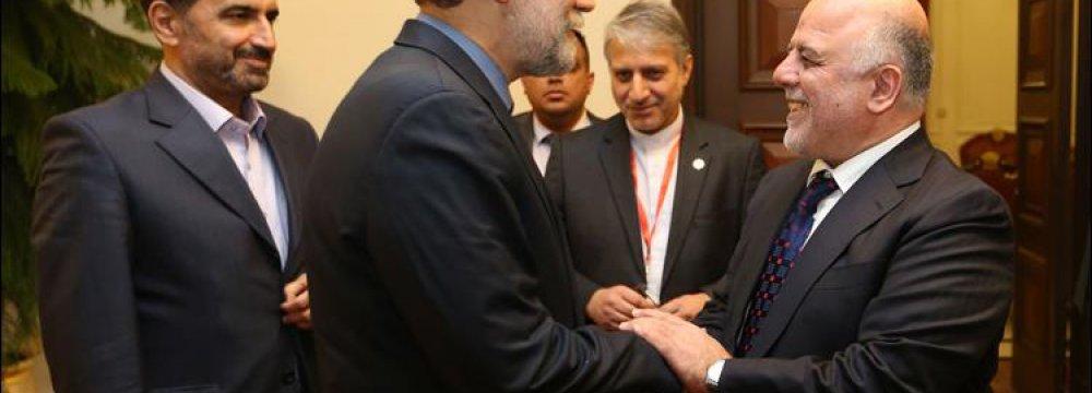 Majlis Speaker Meets Iraqi Premier