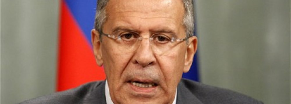 Lavrov Sees Potential for Deal