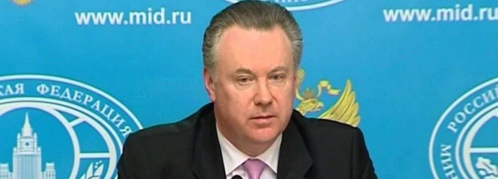 Russia Urges Iran, P5+1 to Expedite Talks
