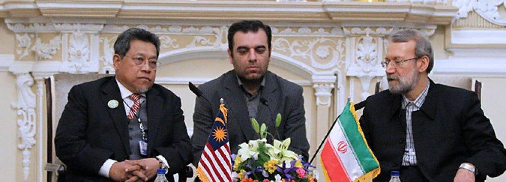 Malaysia Speaker  in Tehran
