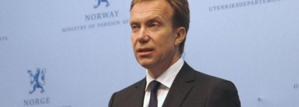 Oslo Keen to Revive Tehran Ties