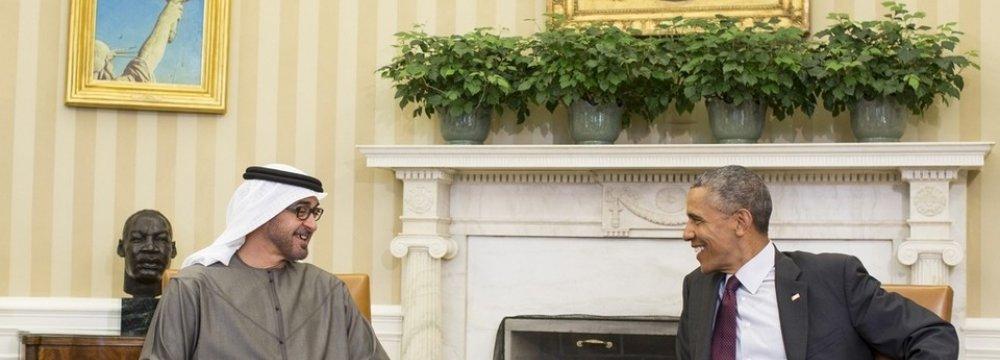 Obama, UAE Official Discuss Iran