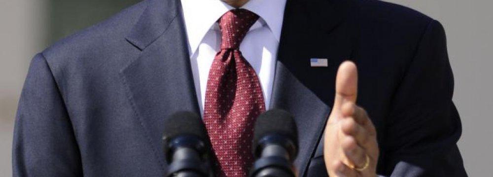 Obama Vows to Veto New Iran Sanctions