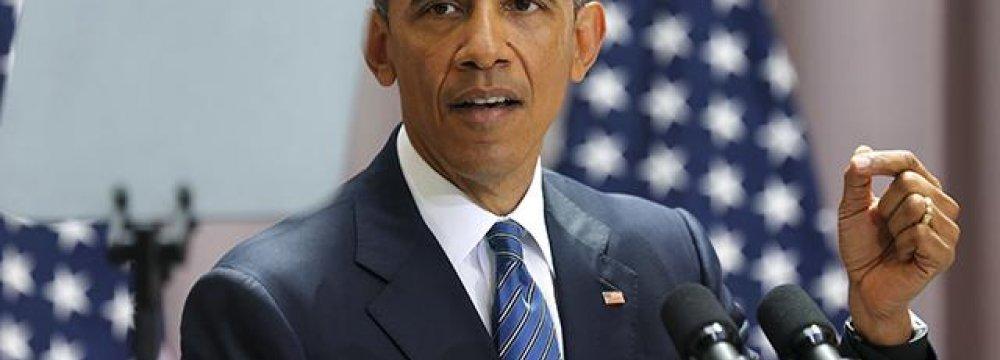 Obama: Blocking Deal Damages US Credibility