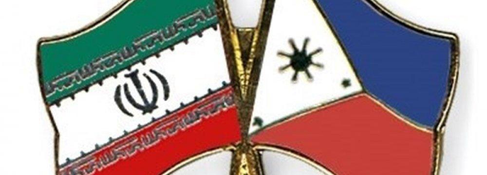 Tehran, Manila Hold Consular Meeting