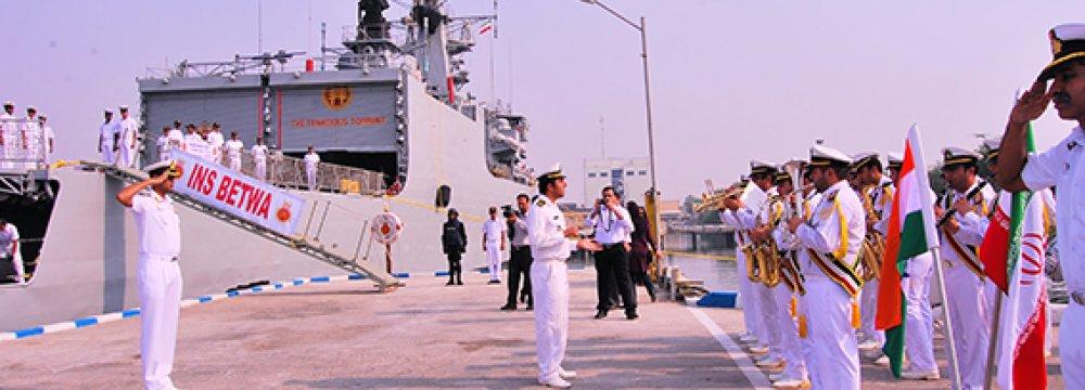 Indian Naval Vessels Visit