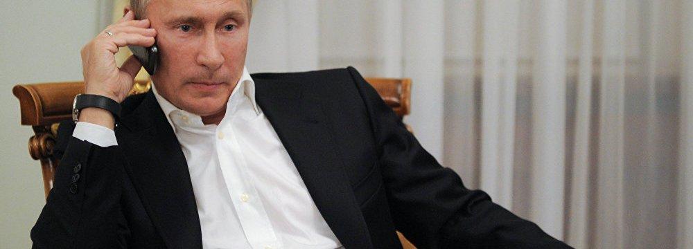 Putin, Renzi Discuss  Regional Tension