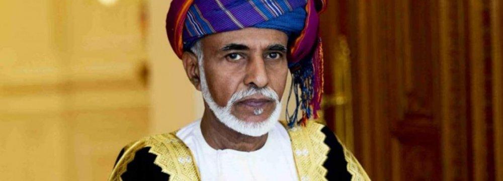 US, Oman Leaders Discuss Iran