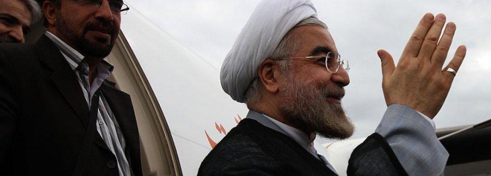 Rouhani to Visit Kazakhstan