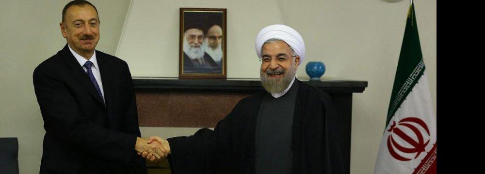 Tehran, Baku Resolved  to Expand Ties