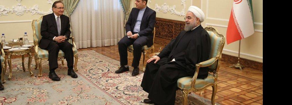 Conditions Favorable to  Enhance Tehran-Bangkok Ties