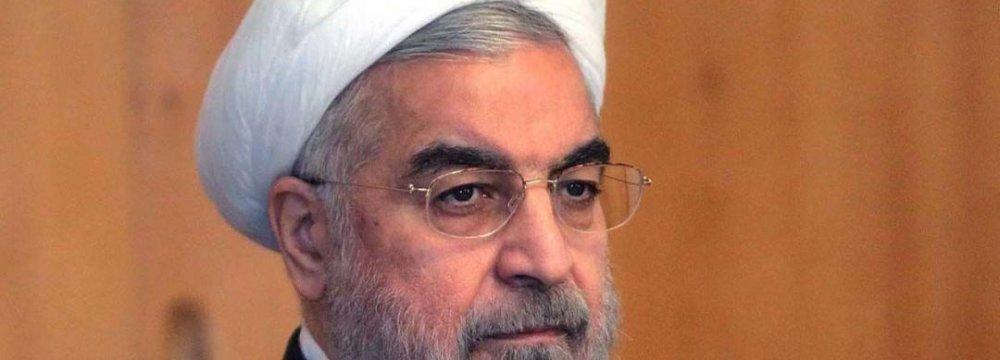 "Rouhani Cancels Europe Trip Over ""Inhuman"" Paris Attacks"