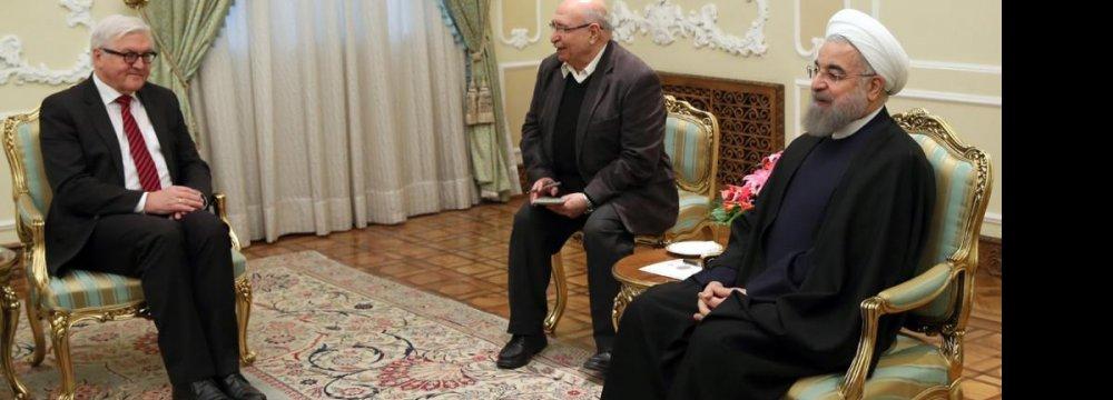 Call for  Tehran-Berlin Partnership Roadmap