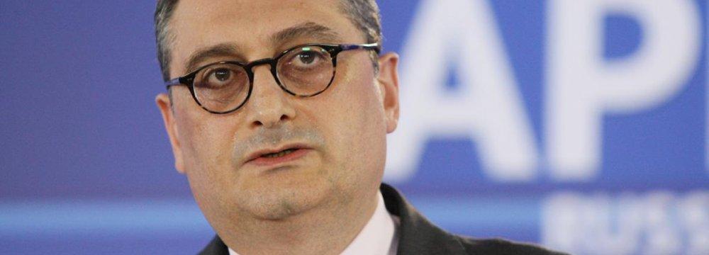 Russia Deputy FM in Tehran