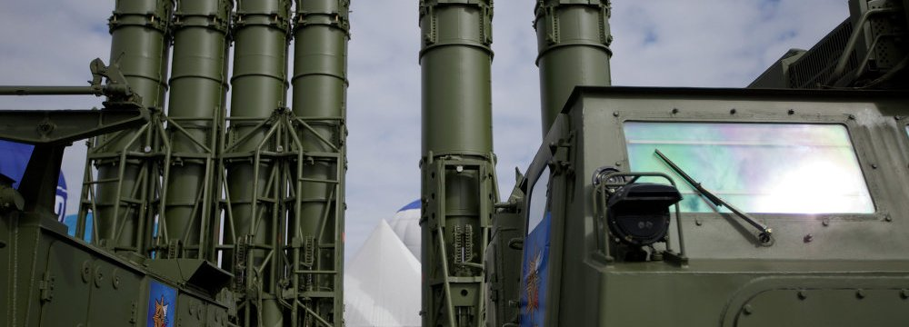 Russia Implementing S-300 Contract
