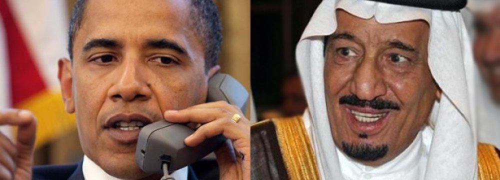 Obama, Saudi King Confer on Iran