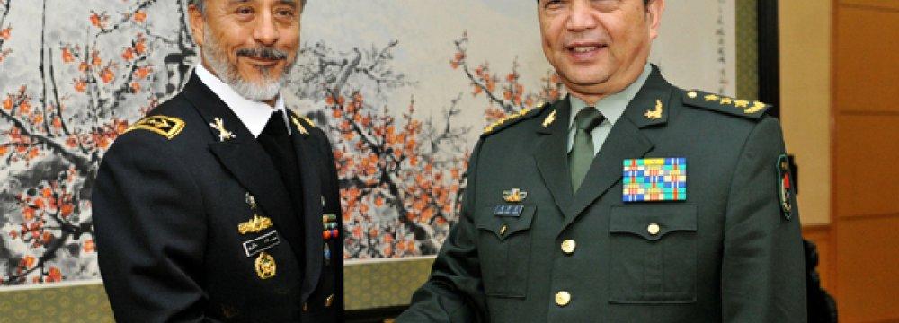 China Seeks Closer Defense Ties