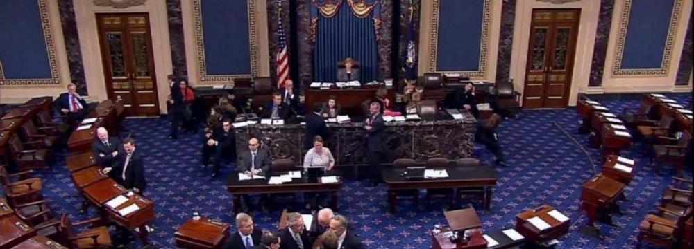 US Senators Face  Defeat on Iran