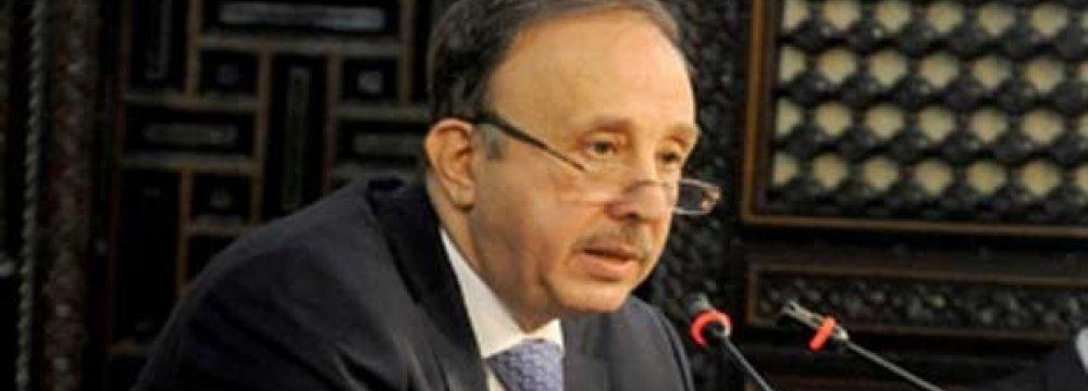 Syria Speaker in Tehran