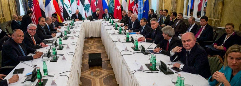 Syria Peace Talks Agenda Outlined