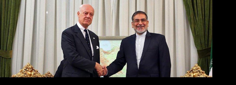 Tehran Offers UN Help  in Anti-Terror Fight