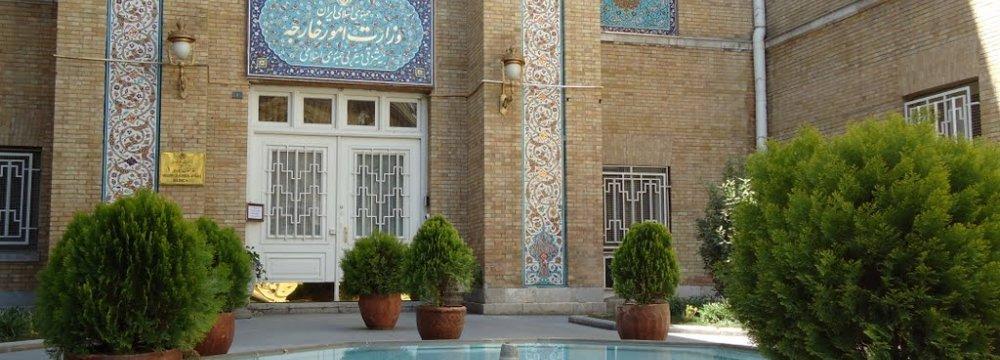 Diplomat Expulsion Denied