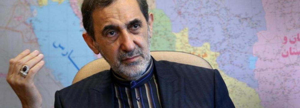 Velayati: Military Buildup Complicates Syria Crisis