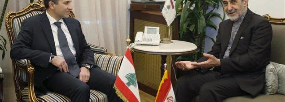 Need for Broader Tehran-Beirut Engagement