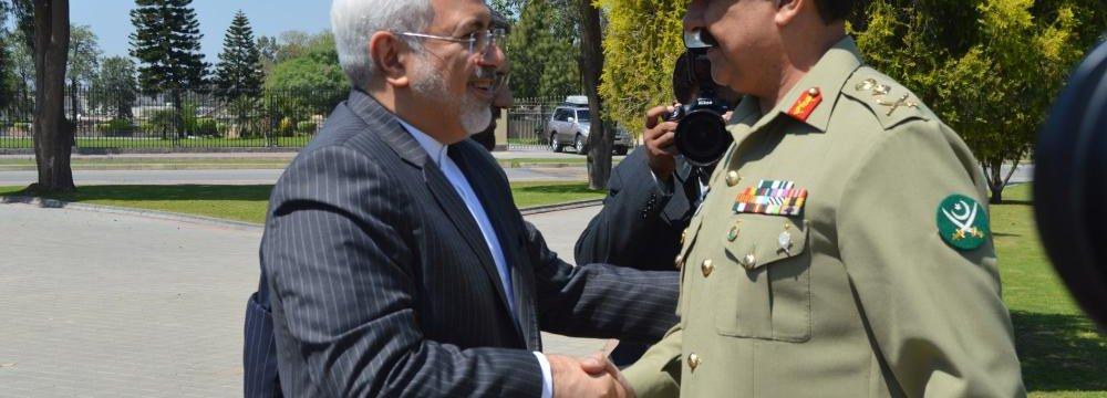 Pakistan Seeks Security Coop.