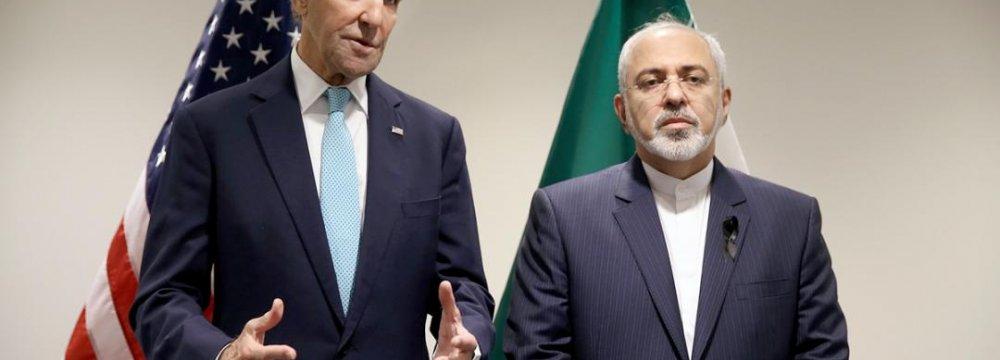 Zarif-Kerry Meeting