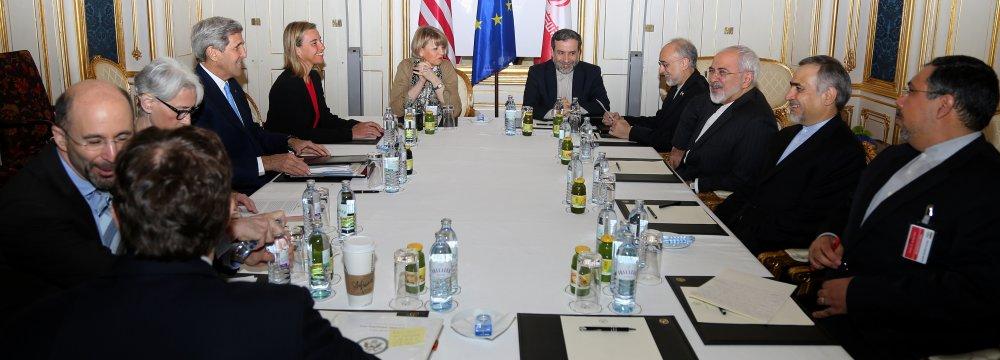 Tehran Will Not Quit P5+1 Talks