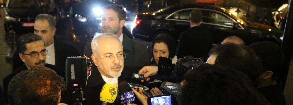 Iran, EU Set to Begin Comprehensive Coop.