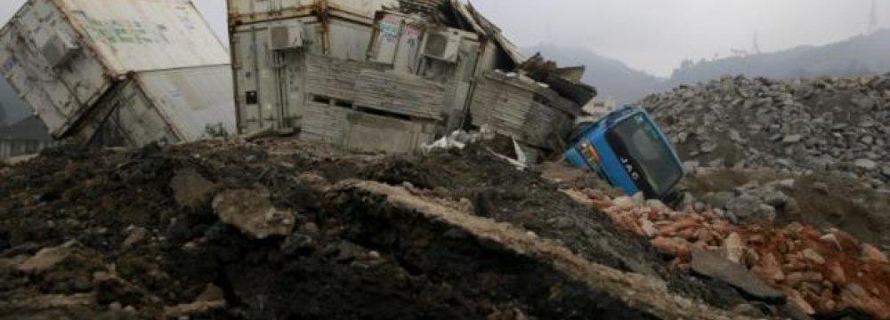 More Arrests in China Over Deadly Landslide