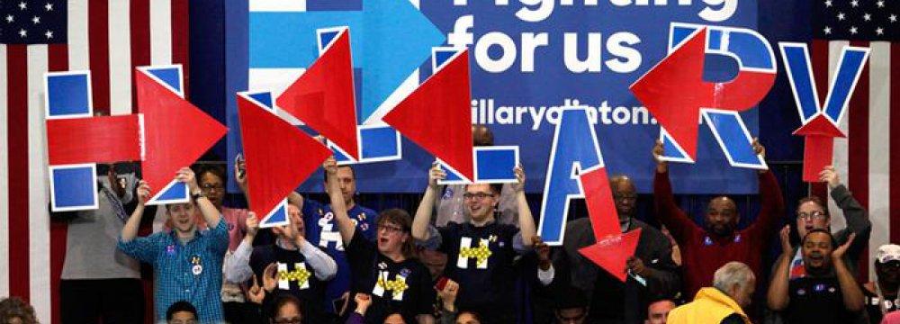 Huge Win for Clinton in S. Carolina Primary