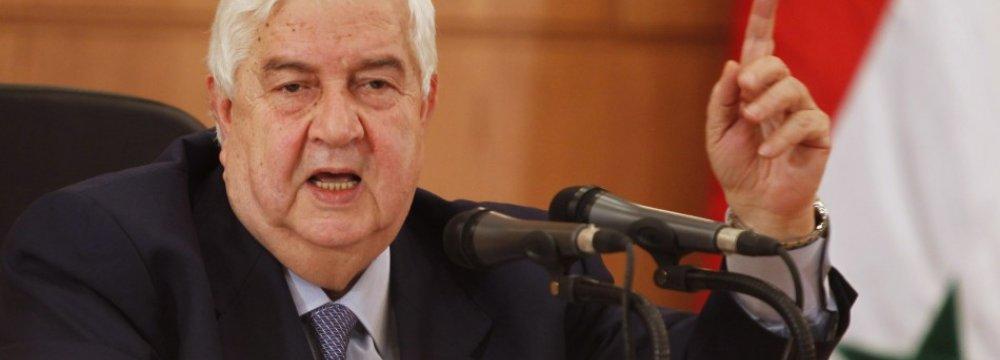 Damascus Says Ready For Talks