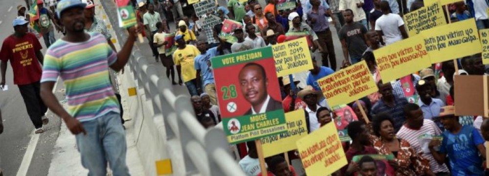 Haiti Postpones Presidential Poll