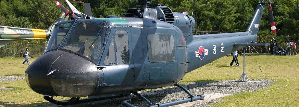 S. Korean Chopper Crash Kills 3