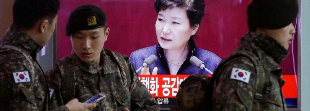 South Korea Warns of North Korea Collapse