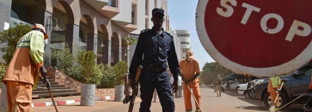 2 Arrested Over Mali Hotel Attack