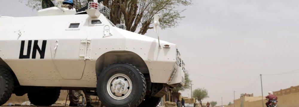 Mali Mortar Attack Kills 5 UN Peacekeepers