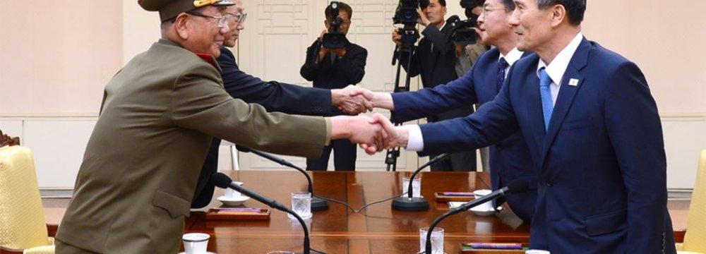 Koreas Talking Peace