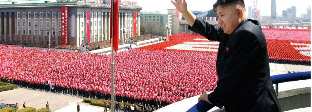 N. Korea's Kim Blames South  for Mistrust in New Year Speech