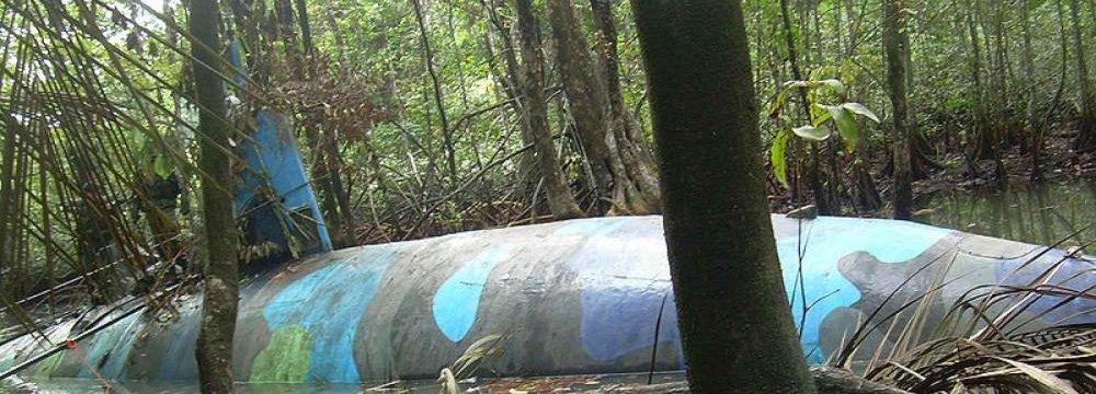 Narco Submarine Captured