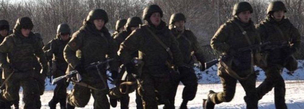 Russian Military Deployed Near Ukraine for Huge Exercises