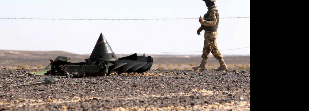 US, UK Say Bomb Caused Russian Plane Crash
