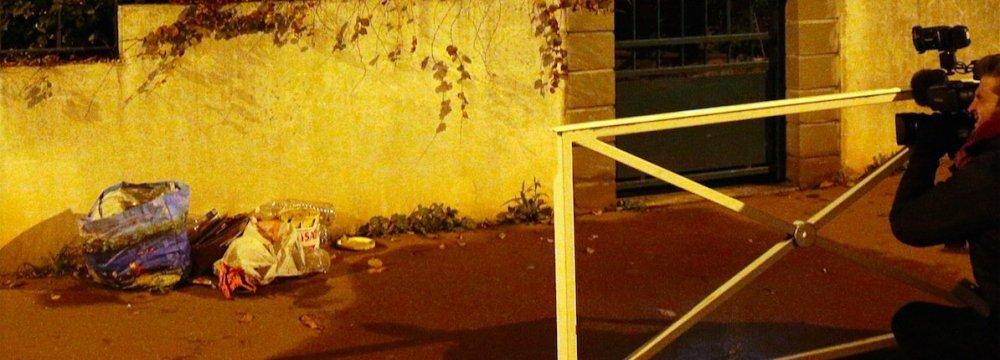 Suspect Quizzed in Paris, Suicide Vest Found