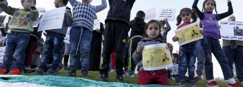 Syrian Gov't to Allow Aid to Enter Madaya