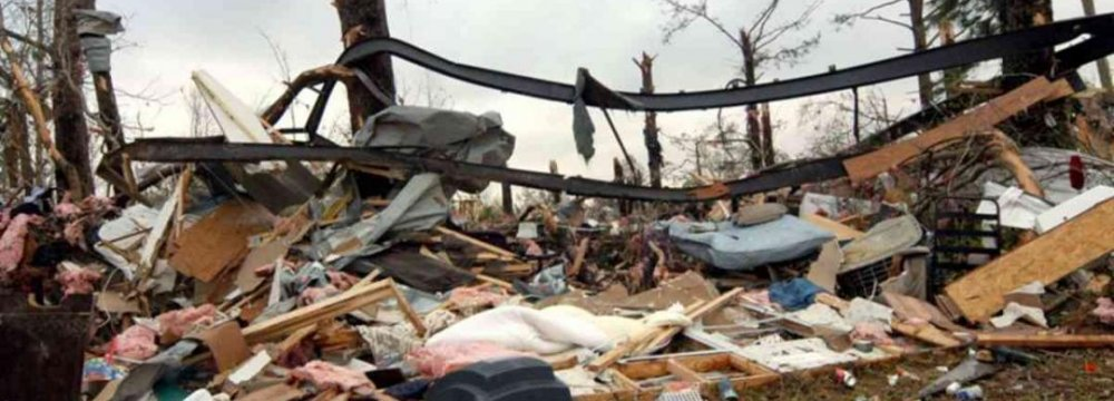 3 Dead as Tornadoes Hit Southern US
